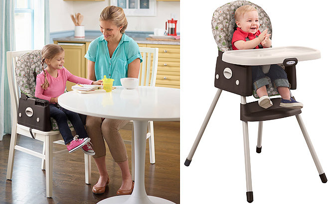 graco high chair coupon wheel motor simpleswitch 2 in 1 convertible just 38 reg 80 free shipping