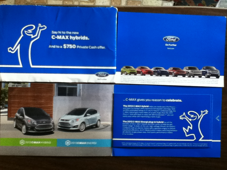 Coupon for a Free box of belVita & 2013 C-Max Hybrid info