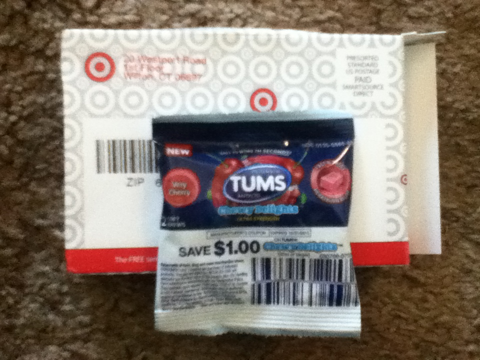 Tums Antacid Chewy Delights Samples And Coupon From Target