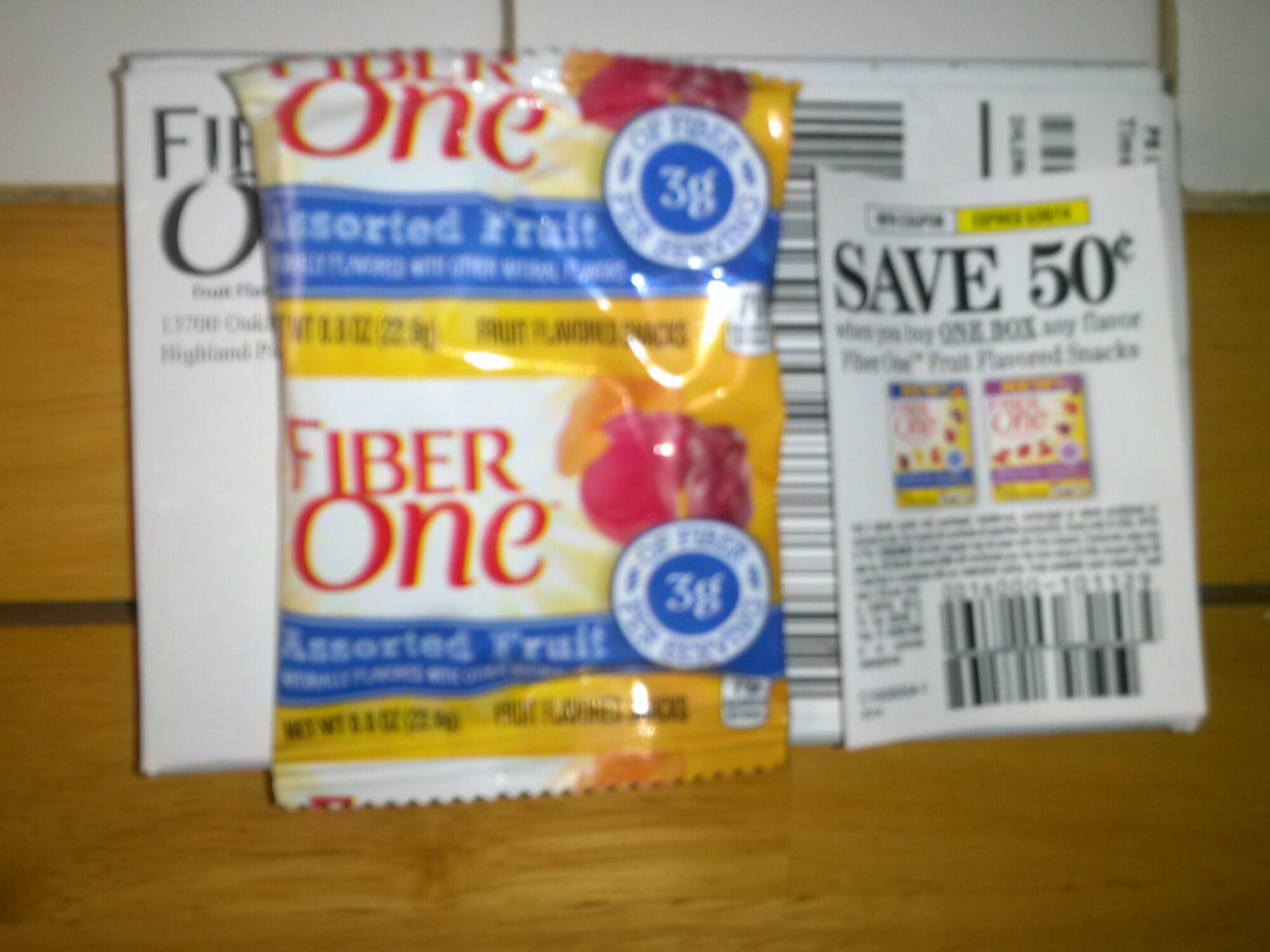 free fiber one fruit snacks and coupon. Black Bedroom Furniture Sets. Home Design Ideas