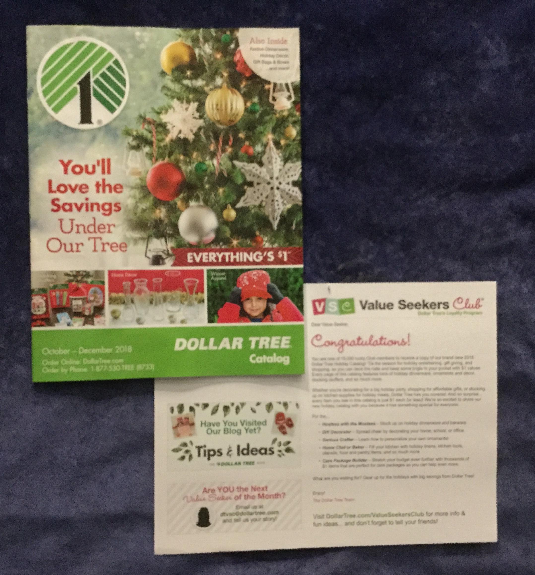 free dollar tree christmas 2018 catalog - Dollar Tree Christmas Tree