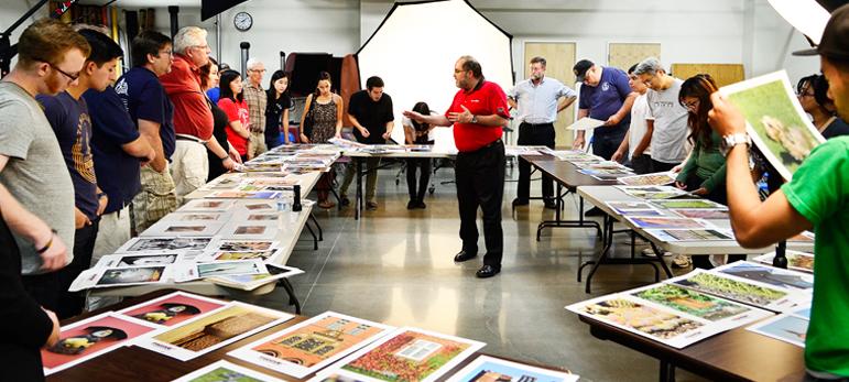 Eric Joseph Conducts an Inkjet Seminar