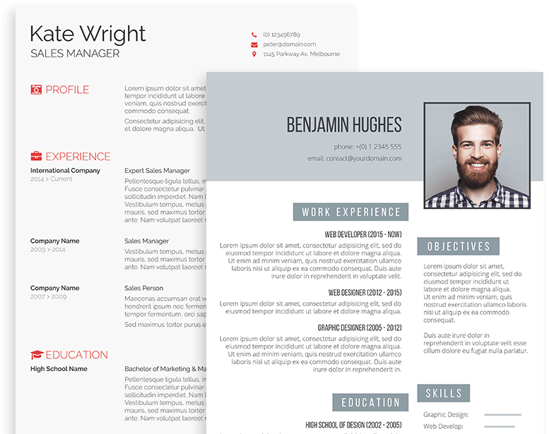 50 free acting resume templates (word & A Prime Destination For Professional Resume Templates Freesumes