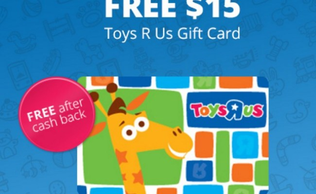 Hot Free 15 Toys R Us Gift Card Free Tastes Good