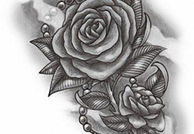 Free Rose Tattoo Designs