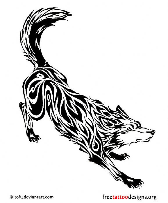 Wolf Flower Tattoo Meaning
