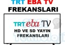 TRT EBA TV FREKANSLARI