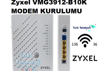 Zyxel VMG3912-B10K MODEM KURULUMU