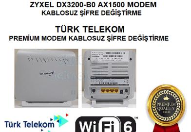 ZYXEL DX3200-B0 KABLOSUZ ŞİFRE DEĞİŞTİRME