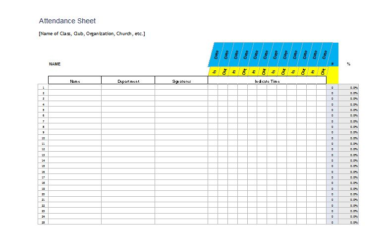 soccer sign up sheets