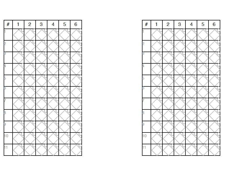 30+ Printable Baseball Scoresheet / Scorecard Templates