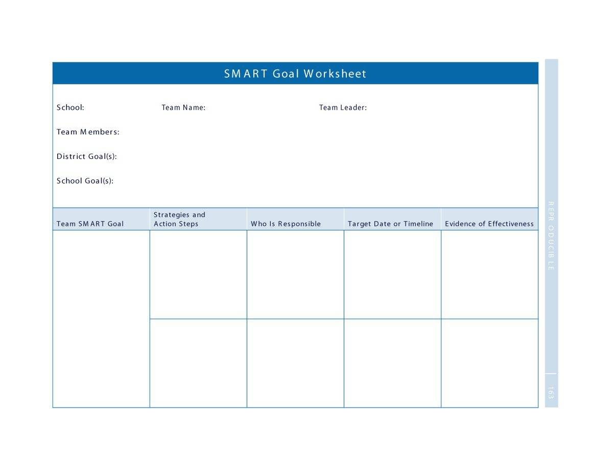 48 Smart Goals Templates Examples Amp Worksheets