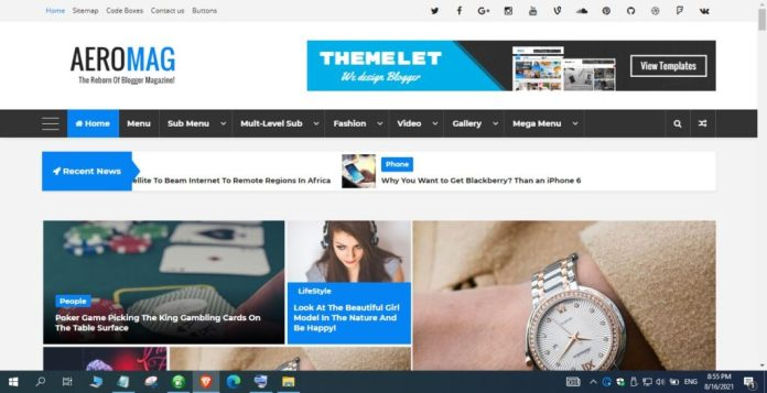 AeroMag-News-Magazine-Responsive-Blogger-Template-Nulled
