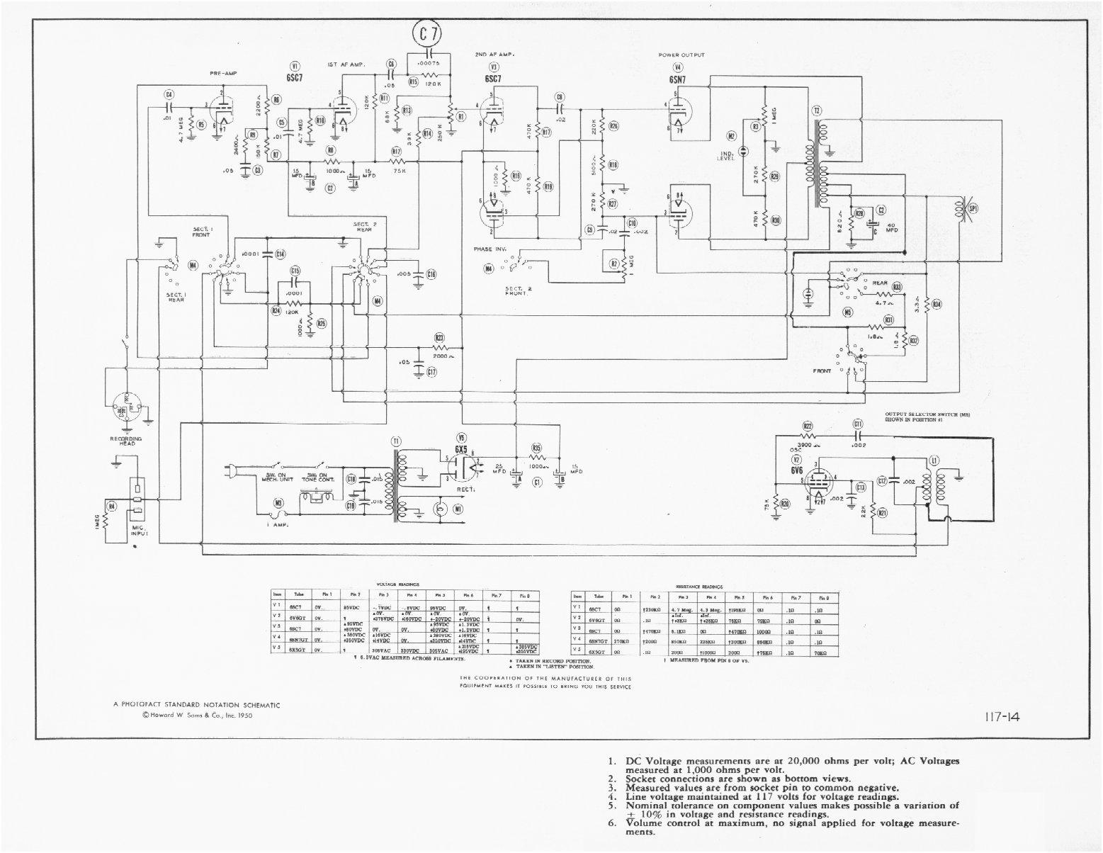 motor wire schematic
