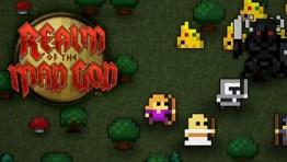 Realm of the Mad God - Um jogo de tiro MMO 2d rápido e gratuito com um estilo retro de 8 bits.