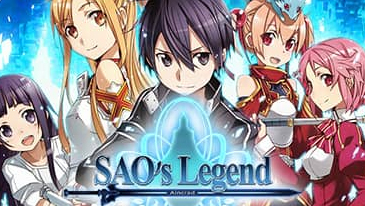 Legend of SAO - Um MMO gratuito baseado em navegador, baseado no popular anime Sword Art Online.