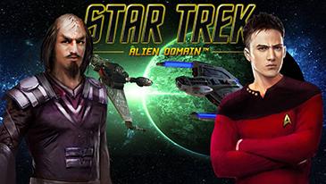 Star Trek: Alien Domain - Um MMO gratuito de estratégia 2D baseado em navegador, definido no universo Stark Trek.