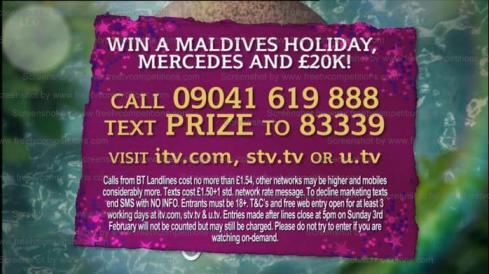 This Morning ITV Free competition Win £20,000 cash, Mercedes & Maldives holiday