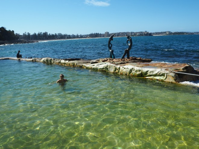 Shelley beach natural rock pool
