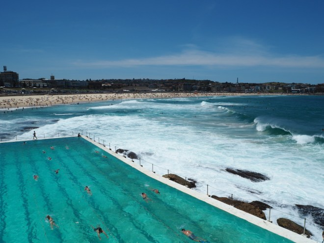 Bondi Iceberg Club swimming pool