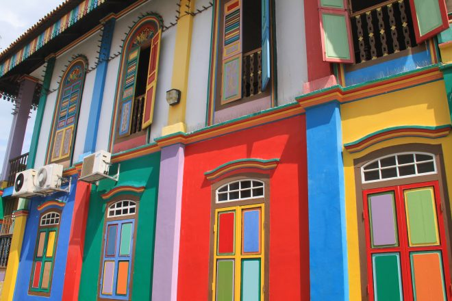The vibrant colors of Little India