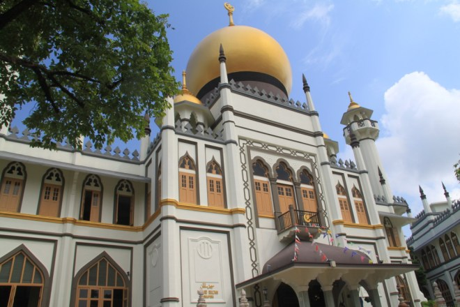 The majestic Sultan Mosque