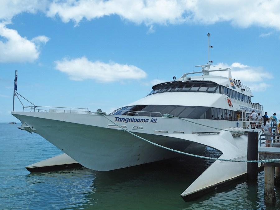 Moreton Island ferry