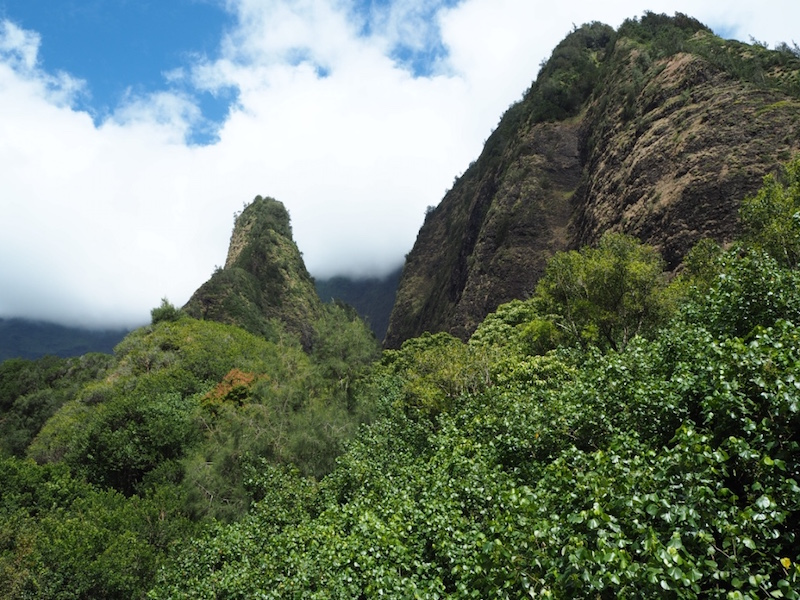 The iconic Iao needle