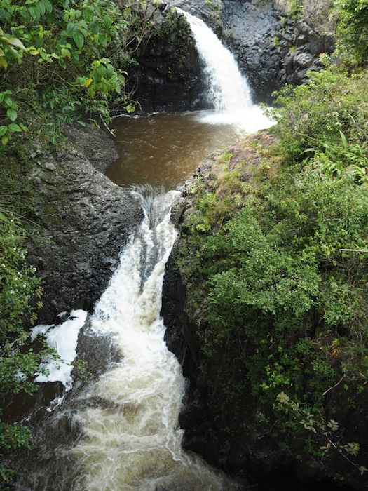 Pipiwai Trail waterfall