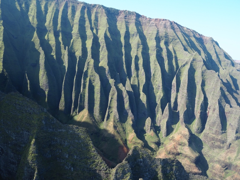 The cathedrals of the Napali Coast