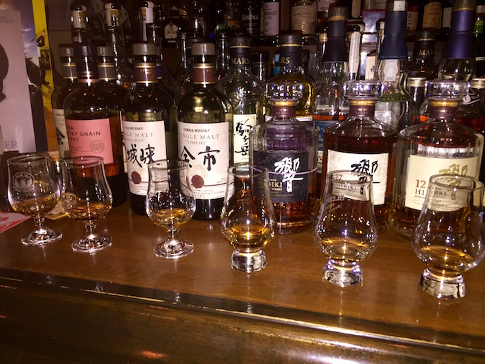 Whiskey flight at Zoetrope!