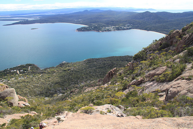 Stunning view from the Mt Amos climb!