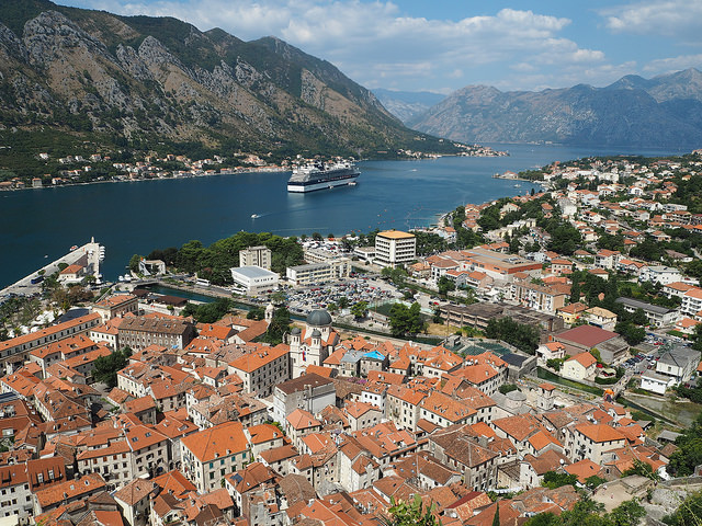 Bay of Kotor Montenegro, two hours from Dubrovnik