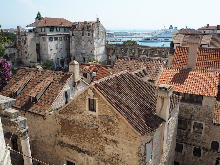 View from the top of the bell tower