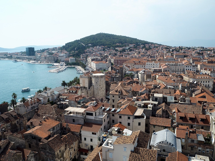 Another view over the old town from the bell tower