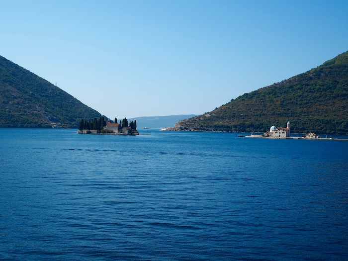 The two islets off Perast