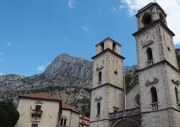 Saint Tryphon cathedral in Kotor