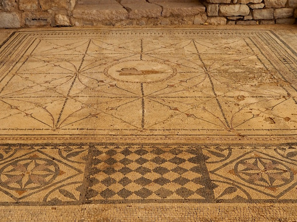 One of the mosaics of Risan