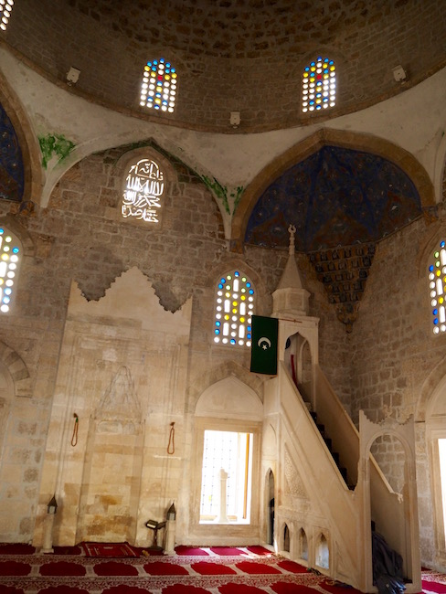 Inside the Pocitelj Mosque