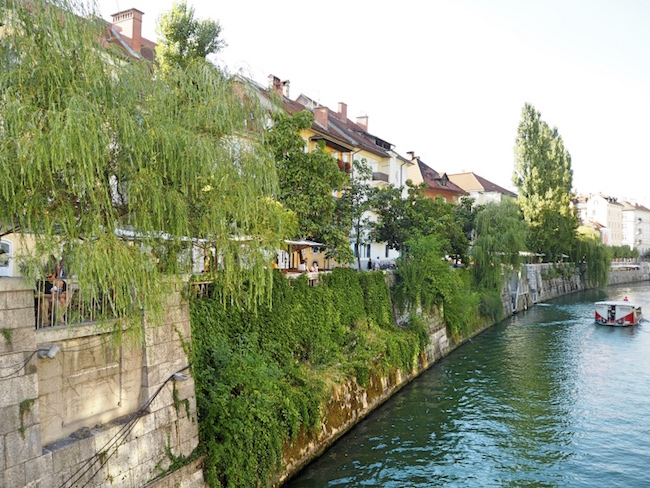 The Ljubljanica river