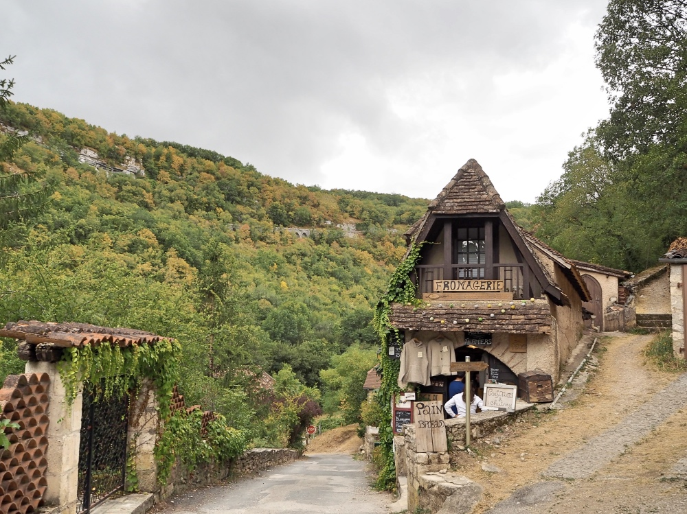 A cute little house on the outskirt of Rocamadour