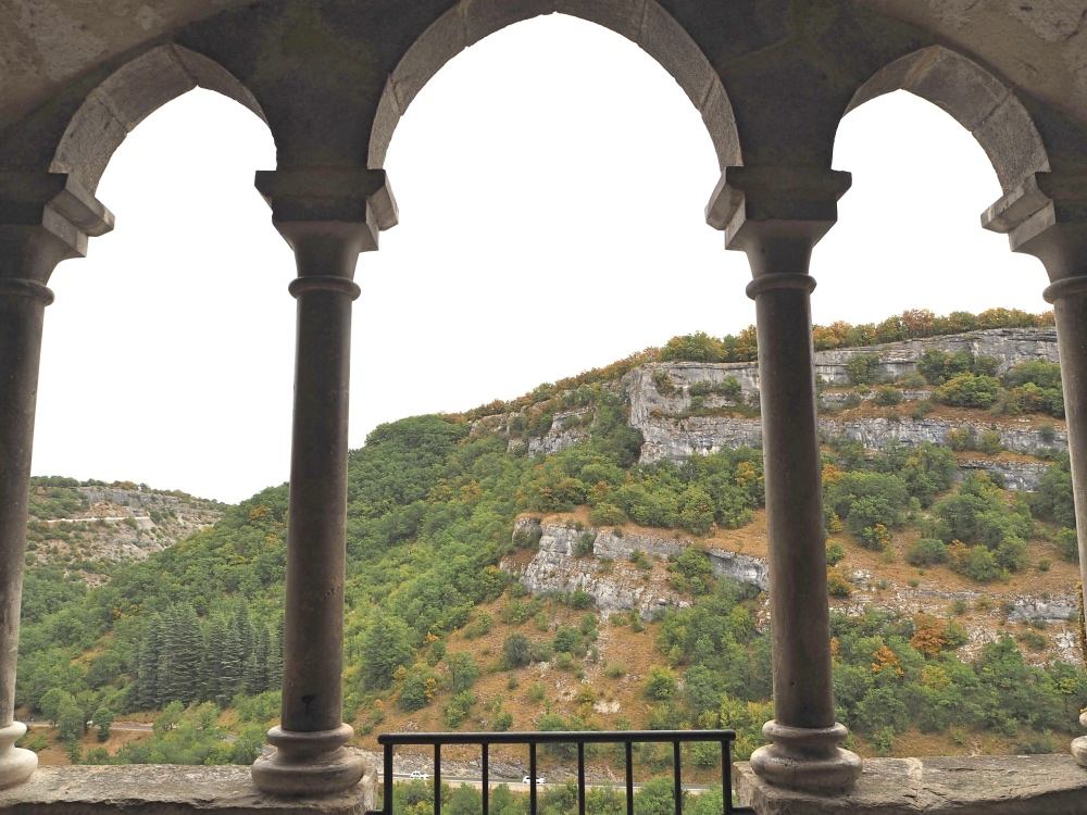 View from the Grand Escalier