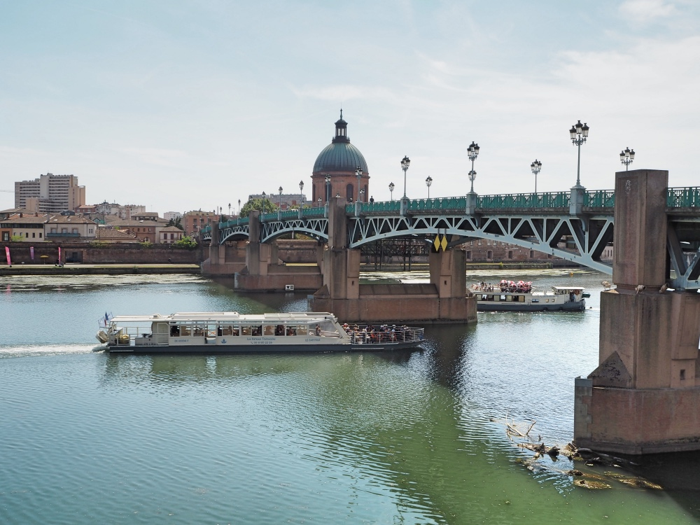 The Garonne river.