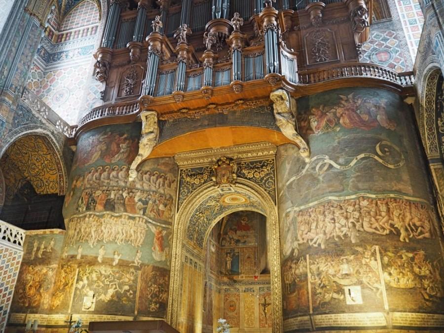 The Last Judgement frescoe.