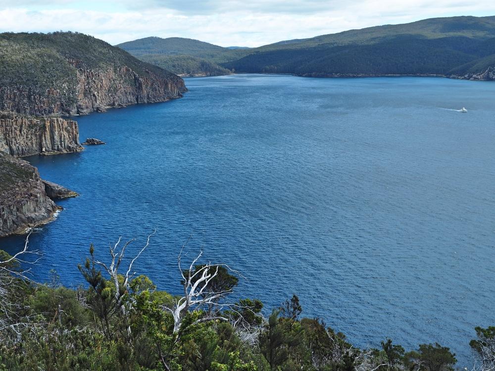 Incredible views as we reach the Cape!