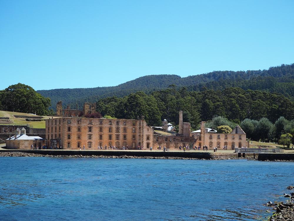 Port Arthur's historic site.