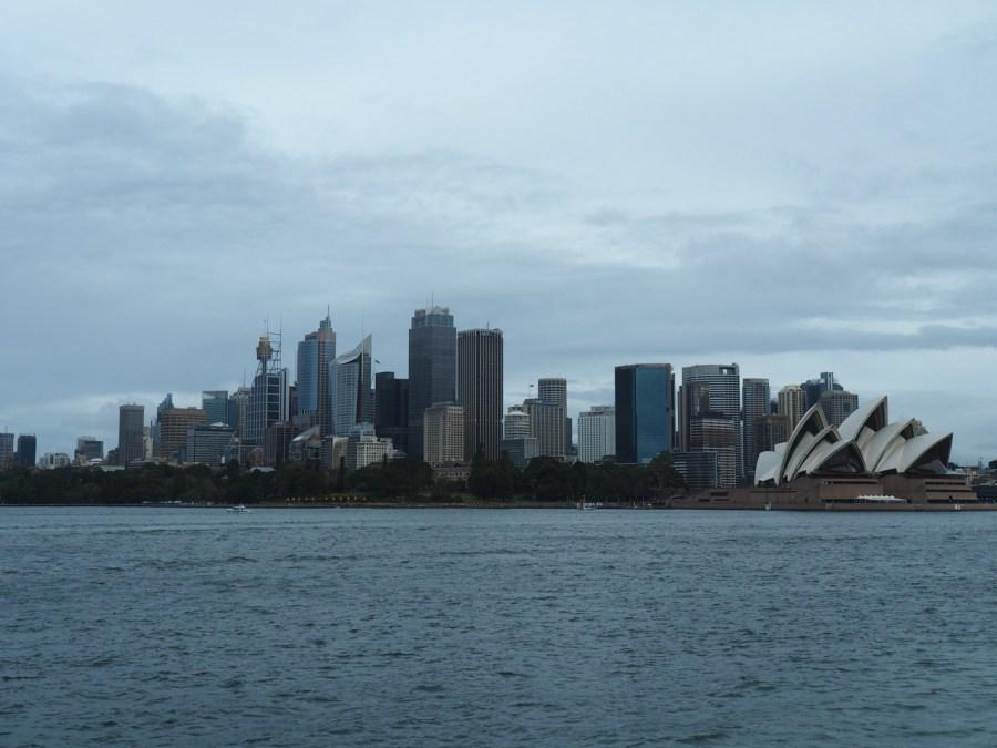 Sydney's amazing skyline.