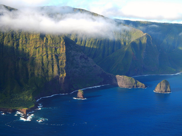 Molokai's North Shore.