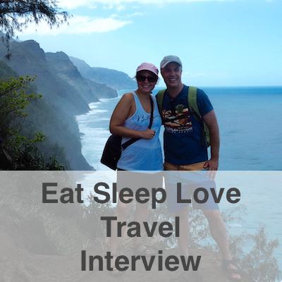 Eat Sleep Love Travel Interview