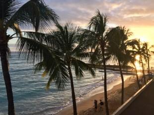 A wonderful Hawaii sunset